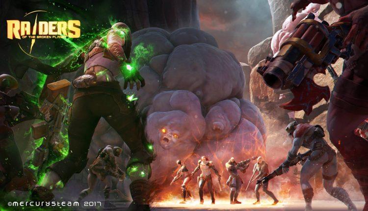 Raiders of the Broken Planet è un multiplayer asimmetrico a episodi