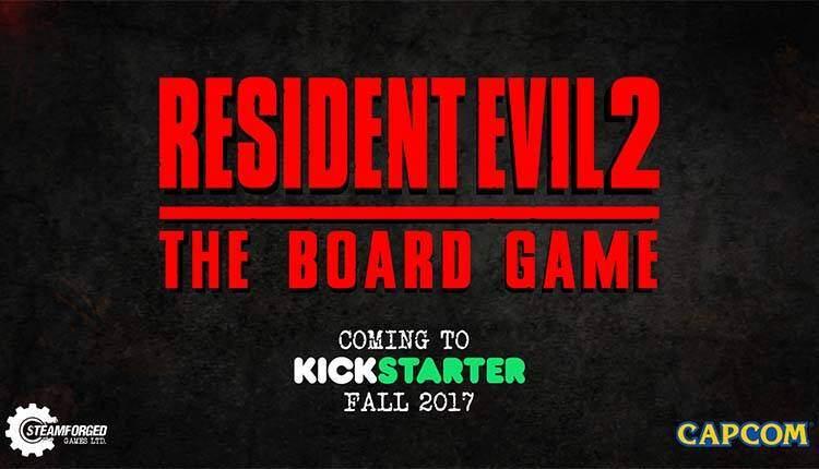 Resident Evil 2 diventerà un gioco da tavolo