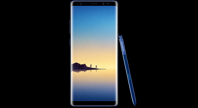 Samsung: per Galaxy Note 8 spunta già una colorazione inedita