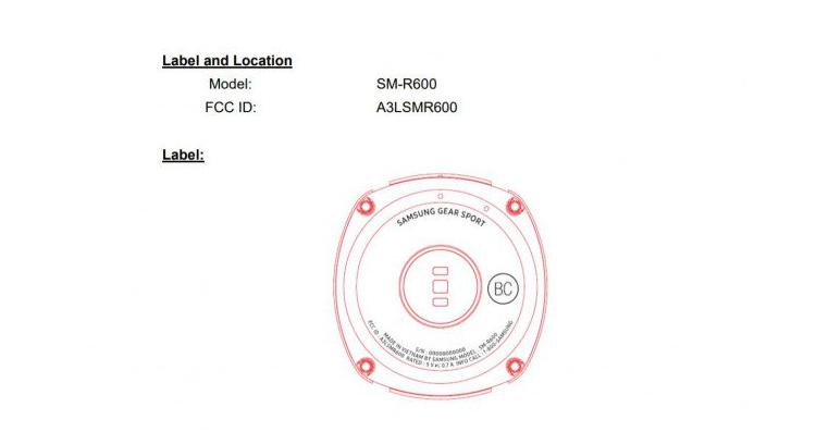 Samsung Gear Sport ottiene il via libera dalla FCC