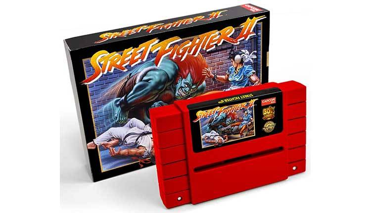 Street Fighter 2 torna disponibile in una cartuccia SNES da collezione