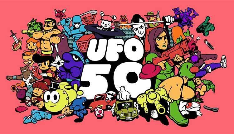 UFO 50 è una raccolta di 50 videogiochi indie in stile 8 bit