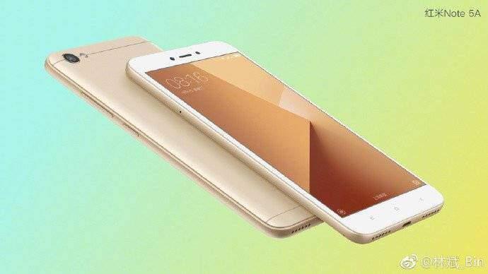 Xiaomi Redmi Note 5A avanza con specifiche diverse dal solito