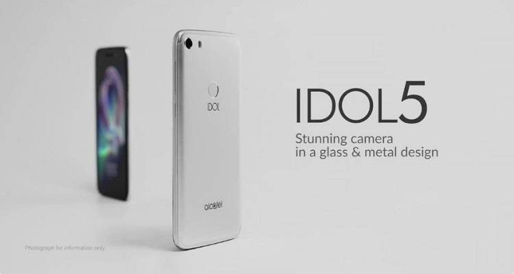 Alcatel Idol 5 è ufficiale: 3 GB di RAM, display da 5.2 pollici in Full HD a 249 euro