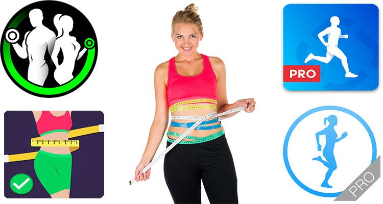 applicazioni per esercizio fisico e dieta