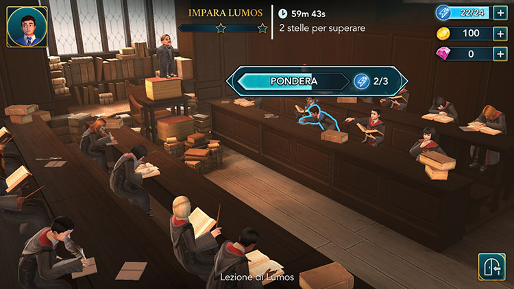 Harry potter hogwarts mystery il mistero delle micro for Mobili harry potter