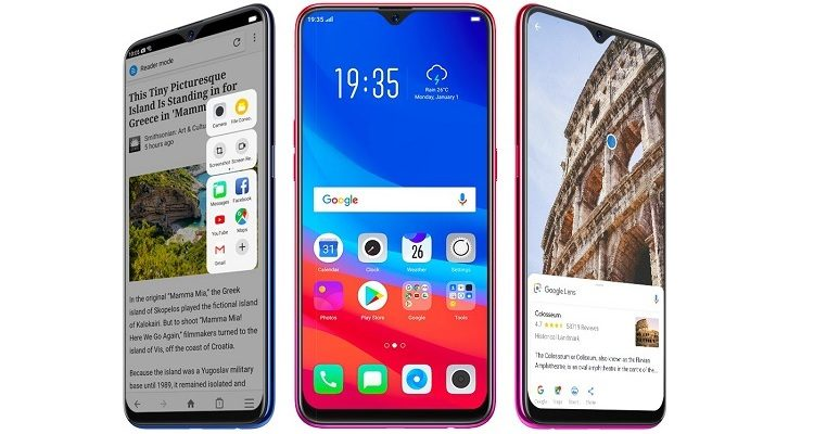 oppo f9 home
