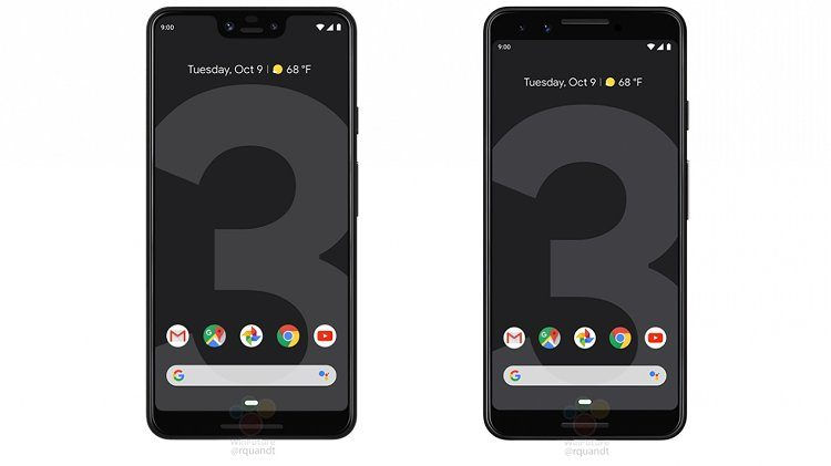 google pixel 3 xl home
