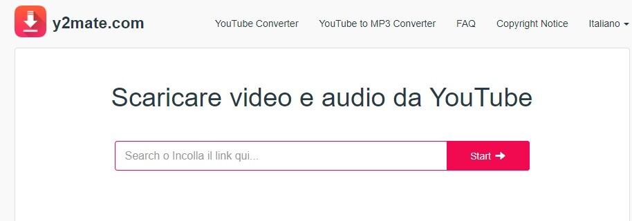 per scaricare video da youtube gratis italiano